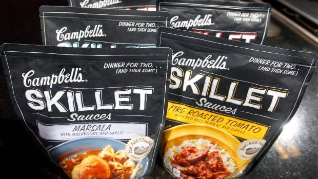 Campbell introduced Skillet sauces in 2012 in an effort to appeal to Millennial buyers, who don't buy canned food. However, profits were down 30 per cent this quarter.