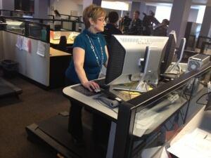 Treadmill workplace
