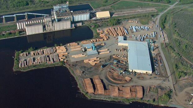 Resolute Forest Products in Thunder Bay can't get enough cars from CN to ship its inventory of lumber, a company spokesperson says.