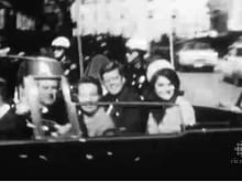 U.S. President John F. Kennedy and his wife Jacqueline, shortly before his assassination in Dallas, Nov. 22, 1963.