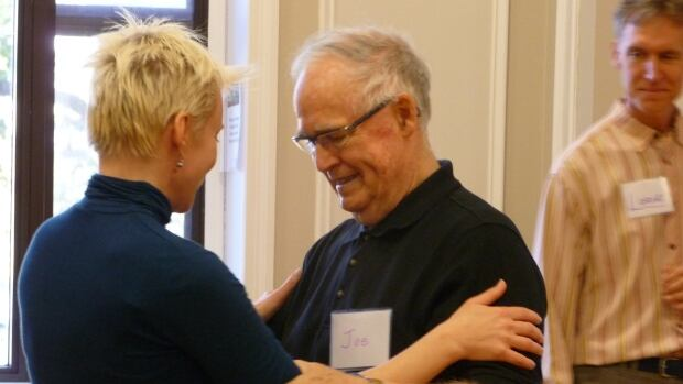 Dance teachers Lorne and Martina Sommers said anyone can tango as long as they can walk.