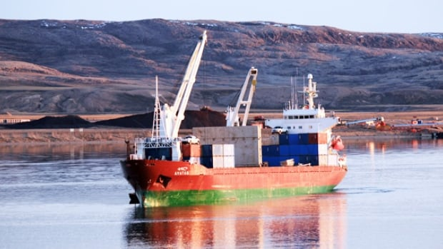 Arctic Sealift Vessel Heading To Discovery Channel Cbc News