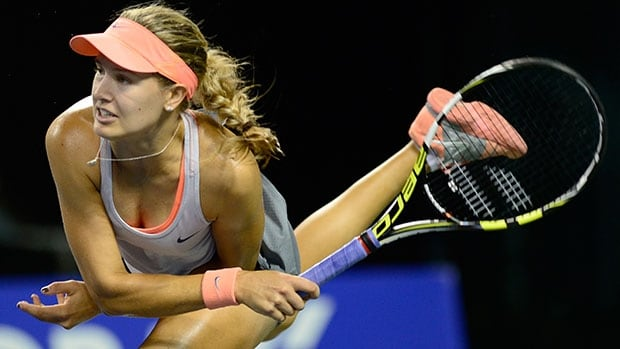 Montreal's Bouchard earned $415,742 US in prize money in 2013 by going 39-24 in singles play and 6-8 in doubles.