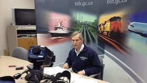 Peter Hildebrand of the Transportation Safety Board