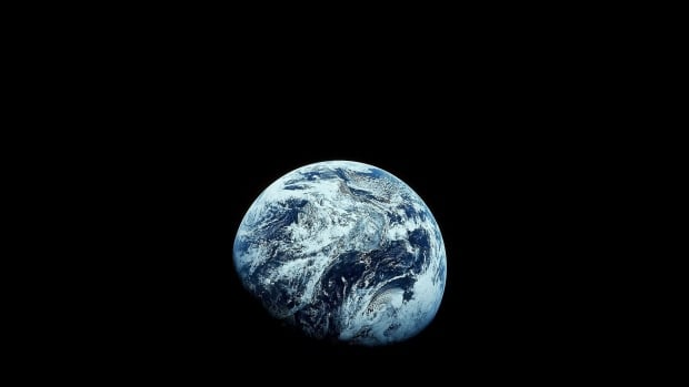 This photo was taken by the Apollo 8 spacecraft in 1968.  Images from that mission were the first to show the Earth in its entirety. CBC's Bob McDonald will be talking about water on Earth and elsewhere in space on Sunday as part of THEMUSEUM's Water Dialogues.
