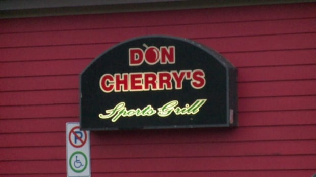 Don Cherry's Sports Grill sign