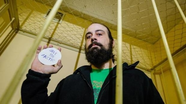 Alexandre Paul was released from a Russian prison today after being detained on Sept. 19. He was aboard Greenpeace's Arctic Sunrise ship when he and 29 of his shipmates were arrested for protesting against oil drilling in the Arctic Ocean.