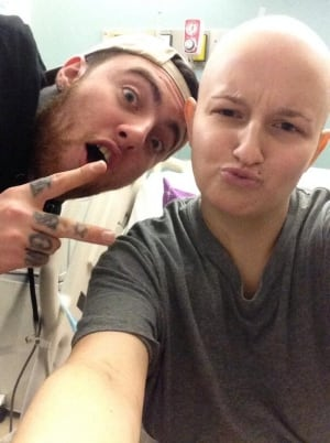 Mac Miller and Hayley Willar