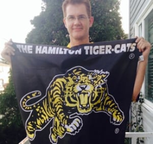 Hamilton Tiger-Cats fan