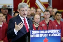 Prime Minister Stephen Harper 20131122