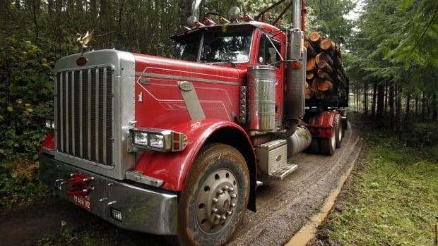 Currently B.C. trucks that spend more than half of their time in the bush are exempt from anti-locking brake requirements. Local trucking associations want the province to exend that exemption to all logging trucks.
