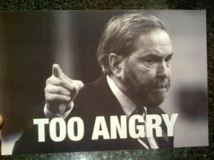 anti-NDP flyer