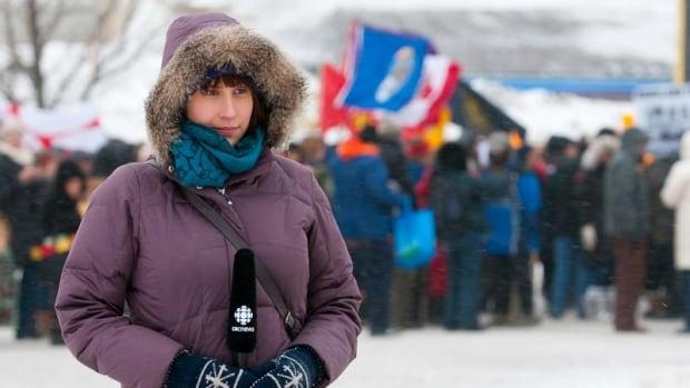 Jillian Taylor, CBC reporter