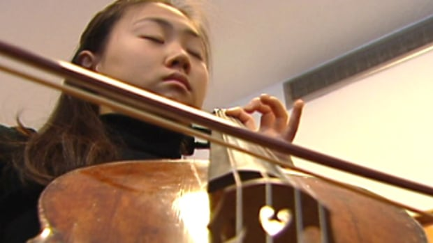 A young participant performs at a past Calgary Kiwanis Music Festival.