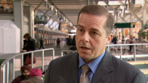 Tony Gugliotta, with the Vancouver Airport Authority