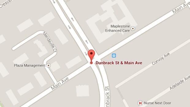 Dunbrack Street and Main Avenue