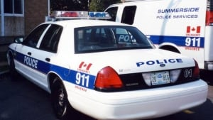 Summerside police car