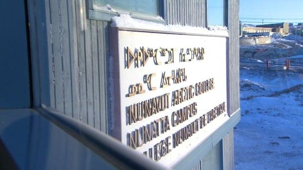 Nunavut Arctic College, in Iqaluit.