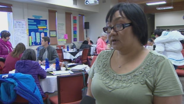 """The Inuktitut curriculum did not have a lot of information, so we're revising it,"" says Suzie Muckpah, the K-6 coordinator with the department of education."