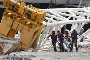 Brazil Stadium Collapse