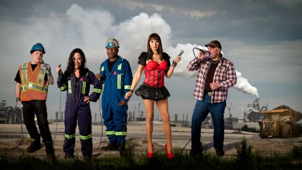 Fort McMurray oil industry workers by day, Karaoke enthusiasts by night- featured in Oil Sands