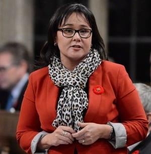 Environment Minister Leona Aglukkaq