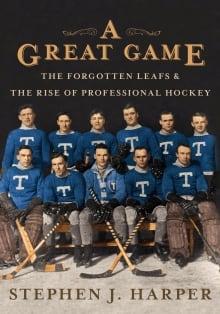 Harper hockey book