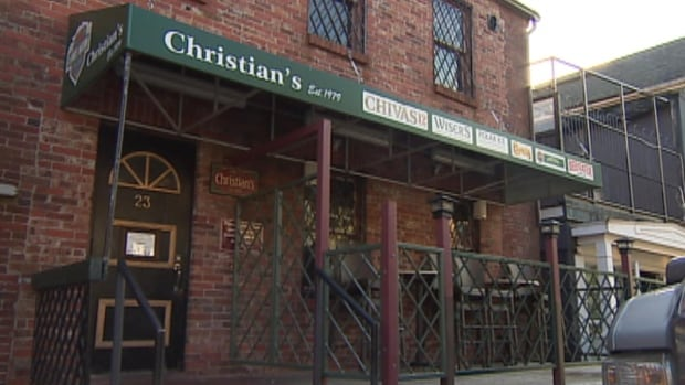 A St. John's woman said this bar charged a 25 per cent gratuity to her credit card after she accidentally left the bar without it.