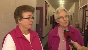 Sisters Sharon Basha and Charlotte Fitzpatrick