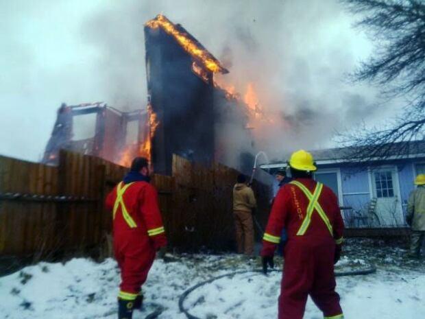 skpic Saskatchewan Beach fire