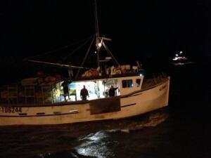 Meteghan fishing boat