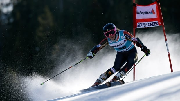 Canada's Marie-Pier Prefontaine was the top Canadian finisher in Beaver Creek, Colo, on Sunday, with a ninth place result.