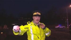 Roadblock runner pursued in Burnaby - Const. Chris Redhead