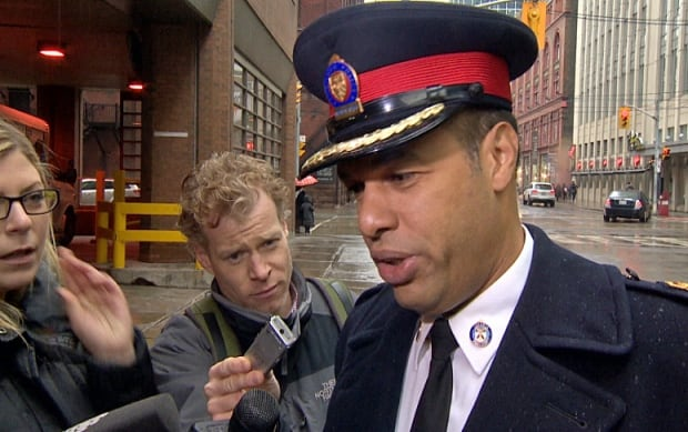 Deputy Chief Peter Sloly talks to reporters on Dec. 1, 2013