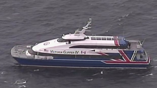 Canadian travellers aboard the Victoria Clipper to Seattle are being told that just because marijuana is legal in Washington state, it does not mean they can light up en route.