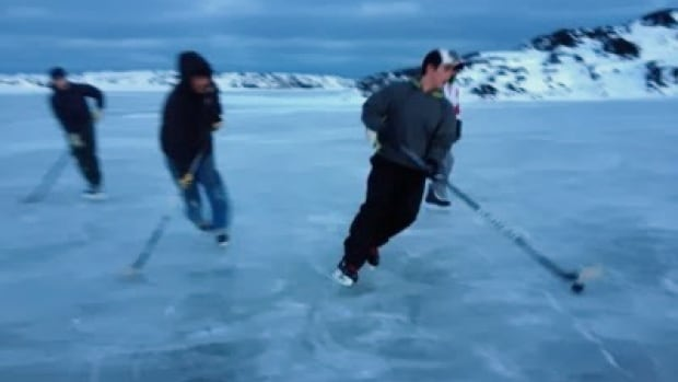 Hockey is a popular sport in Whale Cove, Nunavut. A coach there says he hopes to give some players the opportunity to travel to a tournament in Geraldton, Ont.