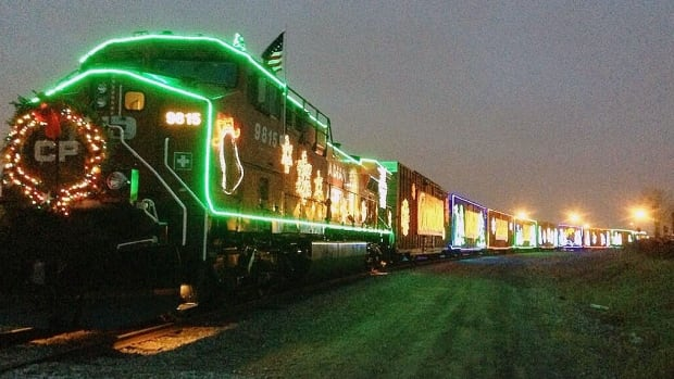 The CP Holiday Train makes its way through Manitoba this week, stopping in Winnipeg on Monday with musical performances by Melanie Doane, Crystal Shawanda, and Doc Walker.