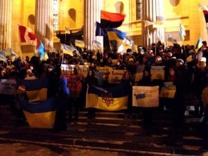 Ukraine rally in Winnipeg