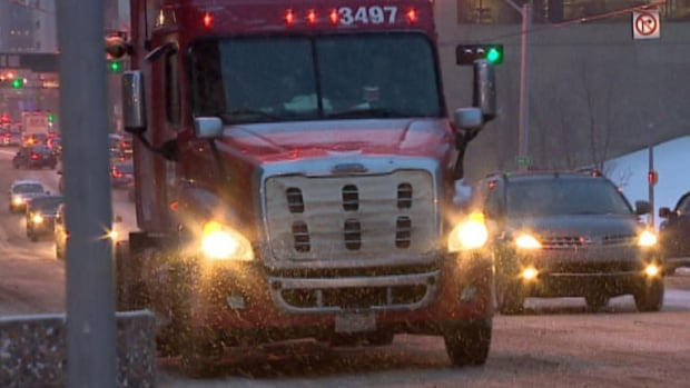 Although the southwest was hit by a storm Monday,  Regina and Saskatoon got off relatively easy.