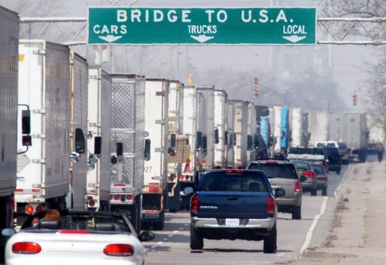 Fingerprint, retina scans considered for border crossing security