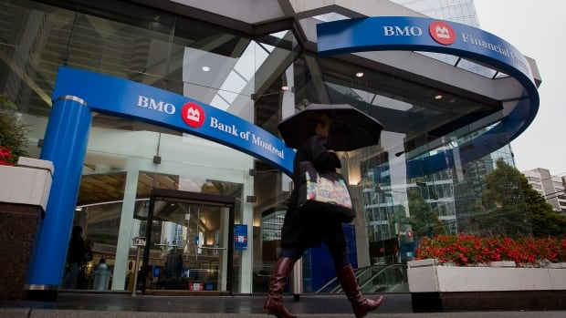 BMO reduced its workforce by almost about 1,000 full-time equivalent positions last quarter. (Ben Nelms/Bloomberg)
