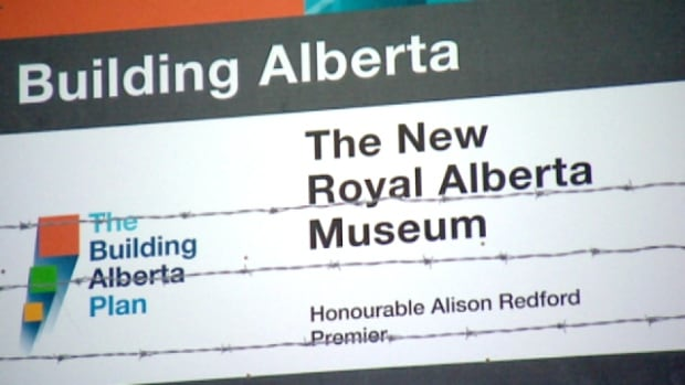The Canadian Taxpayers Federation says the Building Alberta signs, which cost the province more than $1 million, go beyond simple information and into the realm of political propaganda.