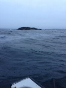 Oil still spilling from the Manolis L near Change Islands
