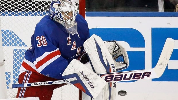 Rangers goalie Henrik Lundqvist, who has signed a contract extension with the team, has 284 wins, a 2.26 goals-against average and .920 save percentage in 531 NHL regular-season games.