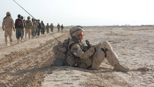 PTSD among Canadian veterans of the war in Afghanistan is a growing concern in the military.  Some soldiers are reaching out to each other to provide support.