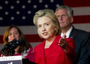 Virginia Governor Clinton