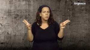 sexual assault website sign language