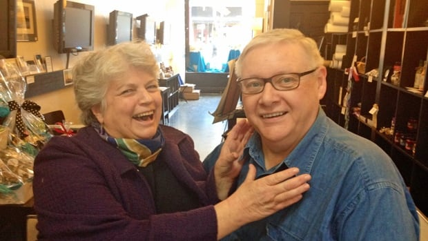 Sometimes, after yet another wisecrack, she wants to wring his neck. But Donna Reid and Graham Crawford generally get along just fine. She's opened The Hamilton Store on James North and he's her genial landlord.