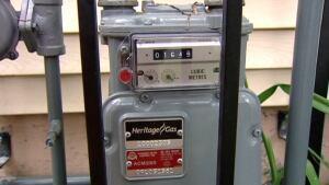 Natural gas metre
