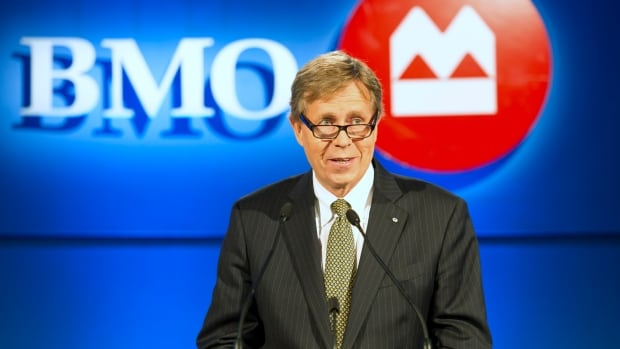 Bank of Montreal, whose chairman of the board J. Robert S. Prichard is pictured above, announced this week that it made a record $4.2 billion in the 2013 fiscal year, but also revealed that it had reduced its workforce by just over two per cent in the fourth quarter.